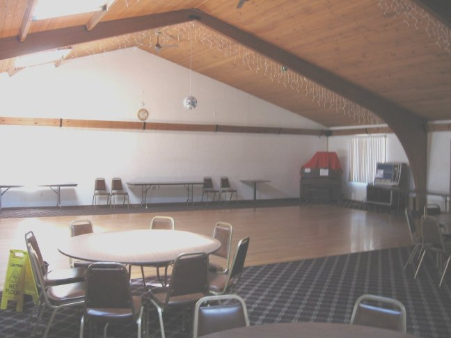 Our spacious dance floor and function hall Picture
